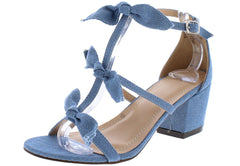 MADELYN278 DENIM WOMEN'S HEEL - Wholesale Fashion Shoes