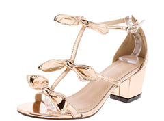 MADELYN278 ROSE GOLD WOMEN'S HEEL - Wholesale Fashion Shoes