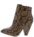 Vibe1 Brown Snake Women's Boot