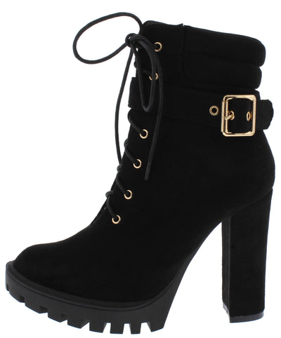 Vinny Black Women's Boot - Wholesale Fashion Shoes