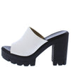 Voice White Women's Heel - Wholesale Fashion Shoes
