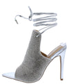 Jennifer279 Silver Women's Heel - Wholesale Fashion Shoes