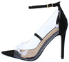 Adele021 Black Women's Heel - Wholesale Fashion Shoes