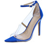 Adele021 Blue Women's Heel - Wholesale Fashion Shoes