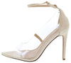 Adele021 Nude Women's Heel - Wholesale Fashion Shoes
