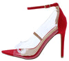 Adele021 Red Women's Heel - Wholesale Fashion Shoes