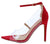 Adele021 Red Women's Heel