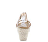 W2024 Champagne Women's Wedge - Wholesale Fashion Shoes