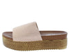 W3003 Beige Women's Sandal - Wholesale Fashion Shoes