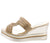 Annie036 Gold Women's Wedge