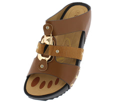W5319 TAN WOMEN'S SANDAL - Wholesale Fashion Shoes