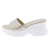 W820 Gold Women's Wedge - Wholesale Fashion Shoes