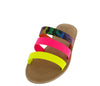 Waterfront70 Neon Yellow Multi Women's Sandal - Wholesale Fashion Shoes