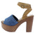 Woodland12 Blue Denim Women's Heel