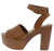 Woodland12 Tan Women's Heel
