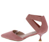 Izara1 Pink Women's Heel - Wholesale Fashion Shoes