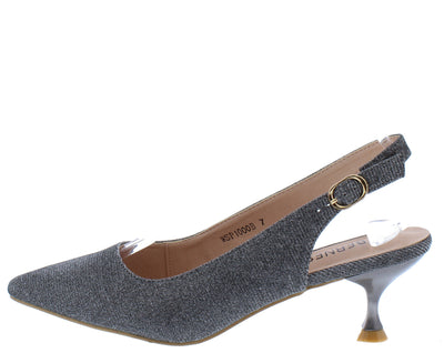 Kalila3 Silver Women's Heel - Wholesale Fashion Shoes