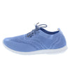 Walking01 Blue Women's Flat - Wholesale Fashion Shoes