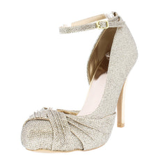 WALTZ11 CHAMPAGNE WOMEN'S HEEL - Wholesale Fashion Shoes