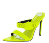 Watch Lime Women's Heel - Wholesale Fashion Shoes