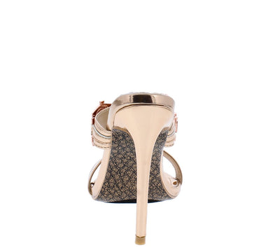 Watch Rose Gold Women's Heel - Wholesale Fashion Shoes