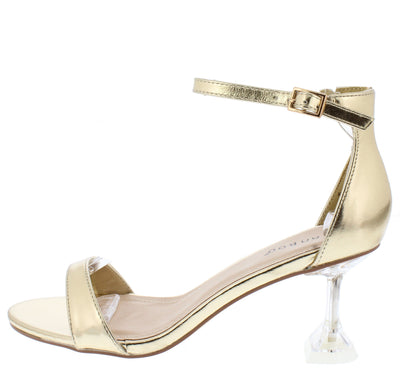 Water03 Gold Women's Heel - Wholesale Fashion Shoes