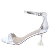Water03 Silver Women's Heel - Wholesale Fashion Shoes