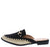 Wendy03 Black Almond Toe Horse Bit Espadrille Loafer Flat
