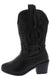 Western11k Black Kids Boot