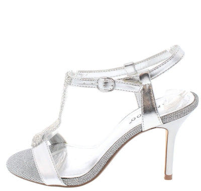 Westie04 Silver Heel - Wholesale Fashion Shoes