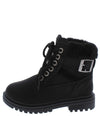 Whitney37k Black Kids Boot - Wholesale Fashion Shoes