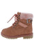 Whitney37k Mauve Kids Boot