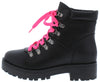 Wildone23 Black Pu Women's Boot - Wholesale Fashion Shoes