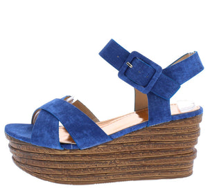352268bd2858 Woody3 Denim Women s Wedge - Wholesale Fashion Shoes