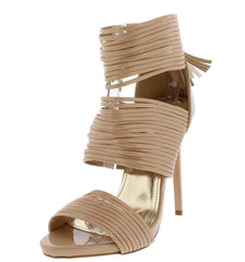 ARIANNA6 NUDE WOMEN'S HEEL - Wholesale Fashion Shoes