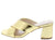 Evelyn127 Gold Women's Heel