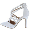 Young04 White Patent Women's Heel - Wholesale Fashion Shoes