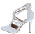Young04 White Patent Women's Heel