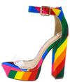 Eliza298 Rainbow Women's Heel - Wholesale Fashion Shoes
