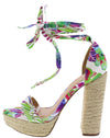 Erica062 Floral Women's Heel - Wholesale Fashion Shoes