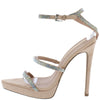 Zach Taupe Women's Heel - Wholesale Fashion Shoes