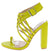 Zandy Lime Women's Heel
