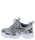 Above20k Grey Snake Kids Flat