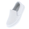 Action11 White Round Toe Slide On Loafer Flat - Wholesale Fashion Shoes