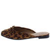 Approach01 Leopard Bow Ballet Toe Mule Slide Flat - Wholesale Fashion Shoes