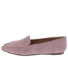 Arrow19 Pink Pointed Toe Top Stitch Loafer Flat - Wholesale Fashion Shoes