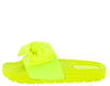 Broadwalk11 Neon Lime Women's Sandal - Wholesale Fashion Shoes