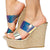 Choice70 Iridescent Women's Wedge