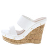 Choice94 White Women's Wedge - Wholesale Fashion Shoes