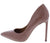 Condition06 Dusty Rose Crocodile Pointed Toe Stiletto Pump Heel